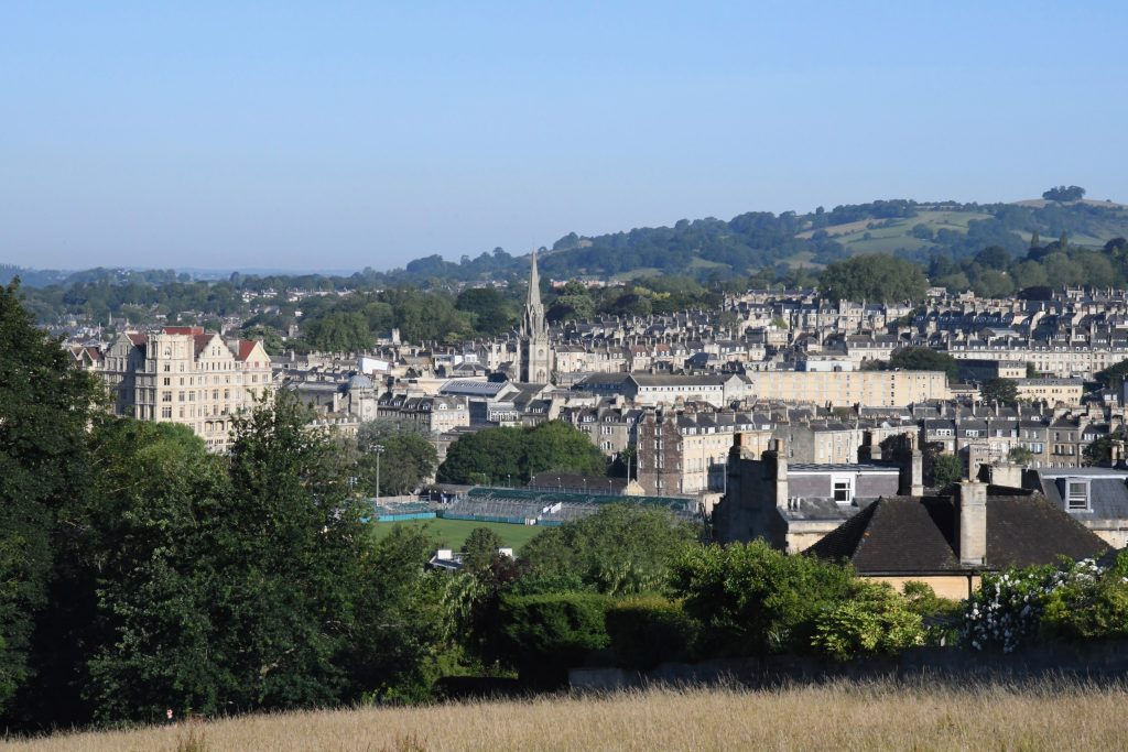 Bath Skyline walk Bathwick Meadow