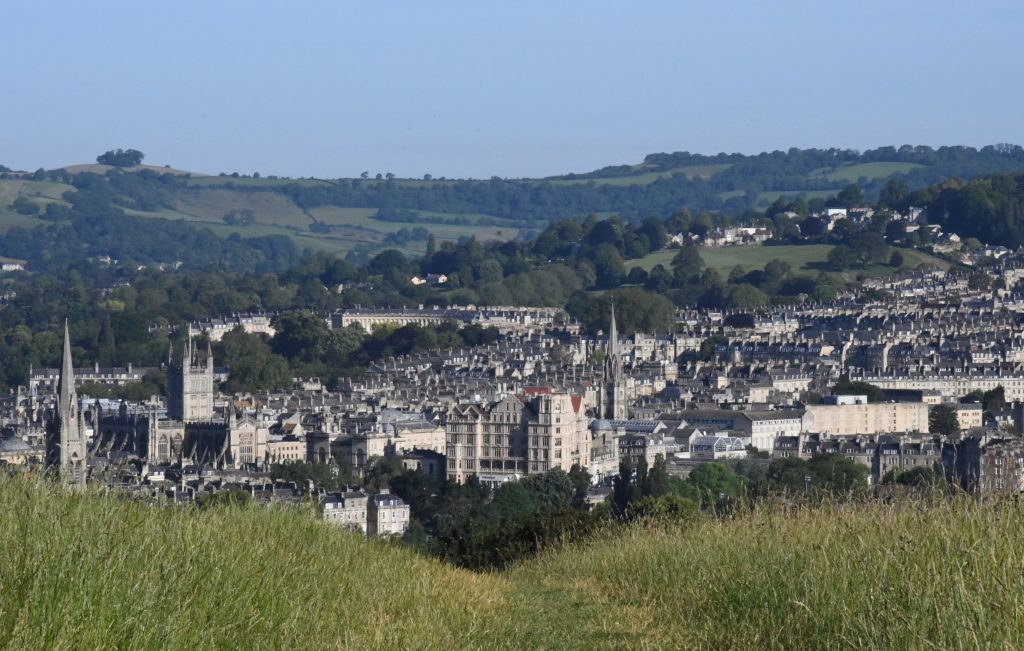 Bath Skyline walk view
