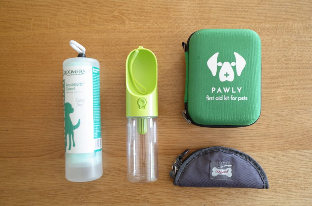 Dog walking essential products