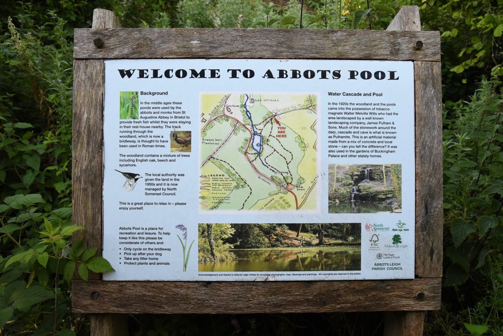 Abbots Pool map