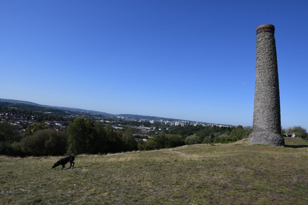 Chimney on Troopers Hill